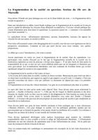 La fragmentation de la société en question par la section du 10e arr. de Marseille